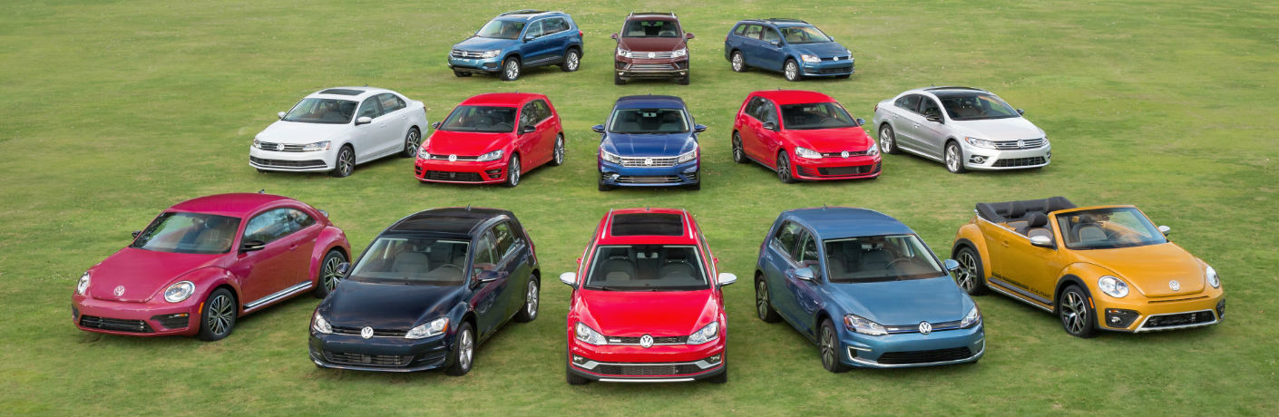 All 2017 Volkswagen Models