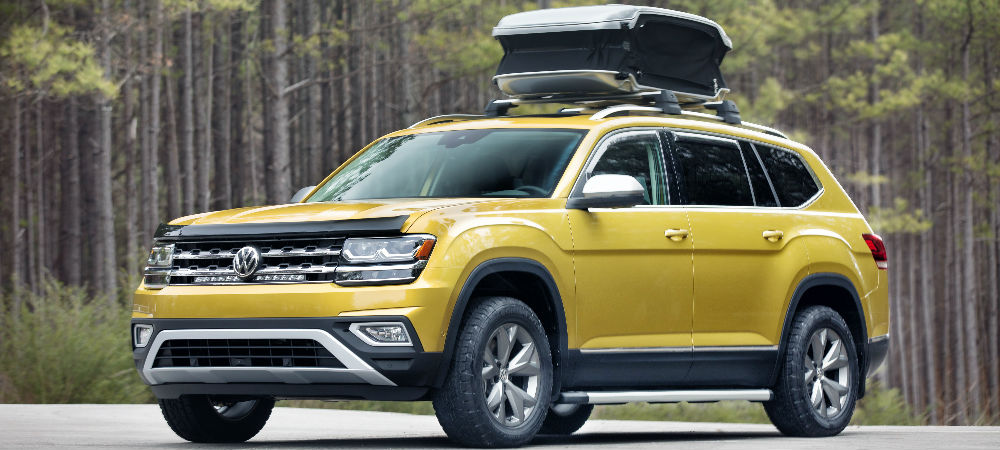 2018 Volkswagen Atlas Weekend Edition Concept