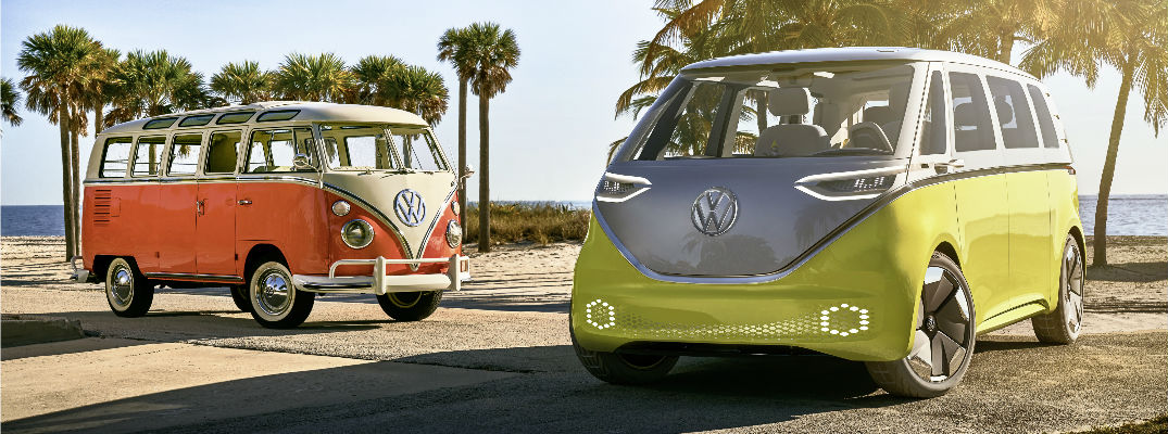 Volkswagen I.D. Buzz Concept makes World Debut at Geneva Auto Show