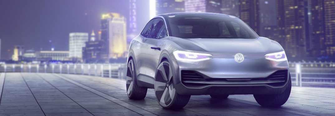 Volkswagen has unveiled a new electric concept vehicle