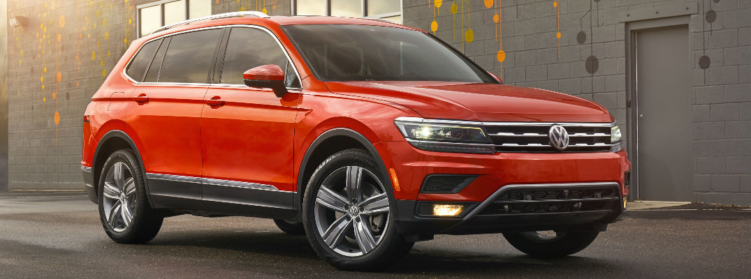 2018 VW Tiguan Red Exterior - What is the starting price for a 2018 Volkswagen Tiguan?