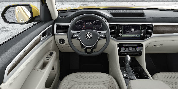 2018 VW Atlas Interior Front Cabin
