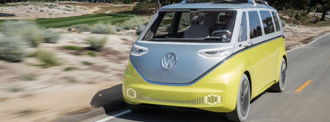 The Bus is Back: Volkswagen Puts I.D. BUZZ into Production