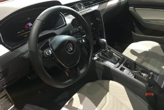 2019 Volkswagen Arteon interior steering wheel and seat