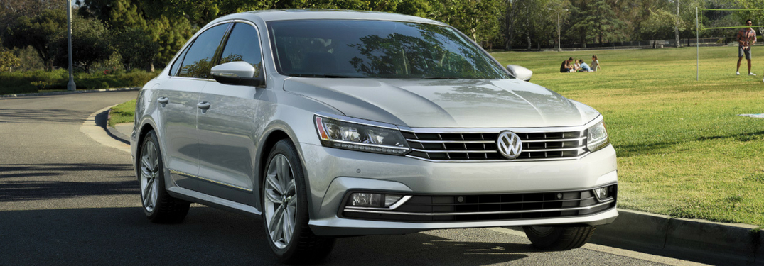 2018 VW Passat full view