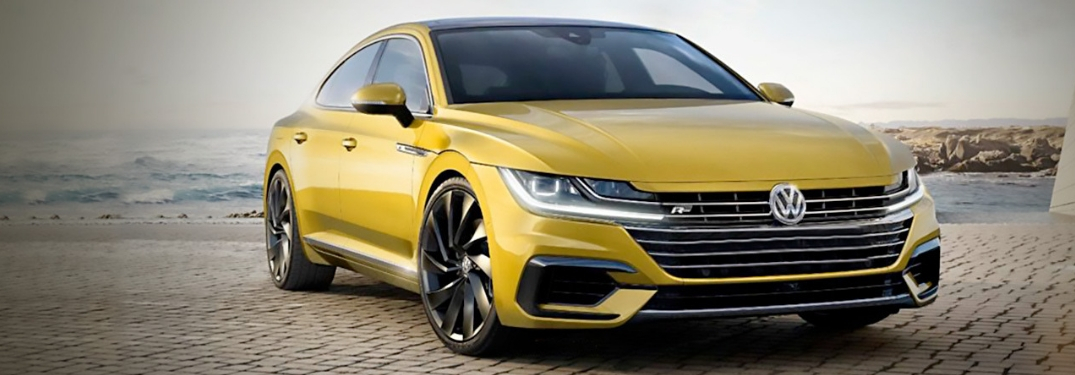 2019 vw arteon parked