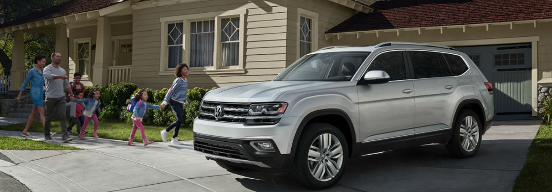 2019 Volkswagen Atlas provides plenty of passenger and cargo space