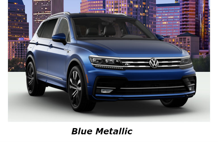 2020 Volkswagen Tiguan in Blue Metallic