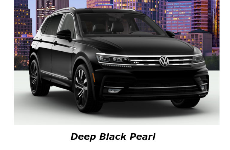 2020 Volkswagen Tiguan in Deep Black Pearl