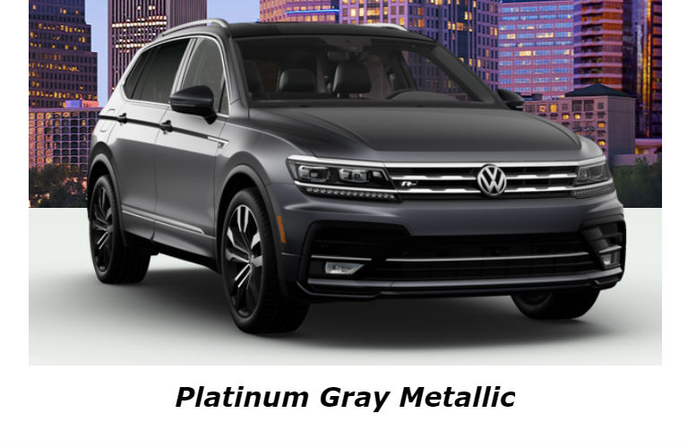 2020 Volkswagen Tiguan in Platinum Gray Metallic