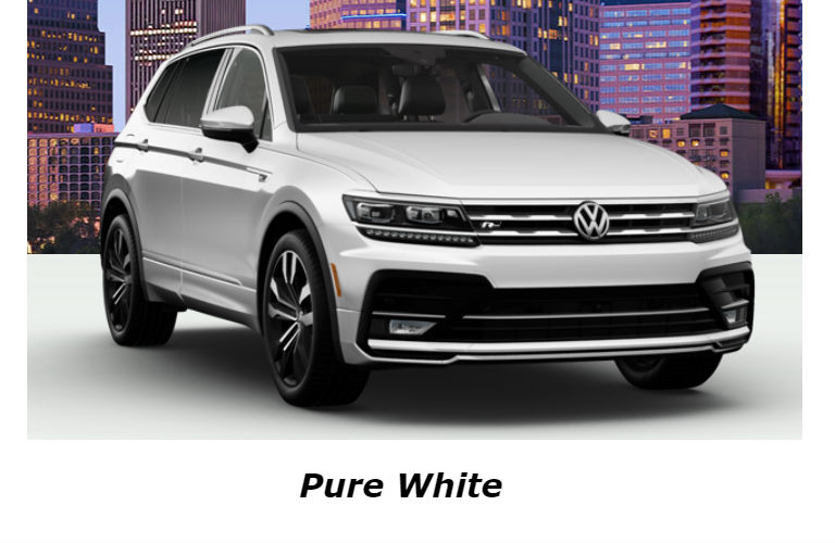 2020 Volkswagen Tiguan in Pure White