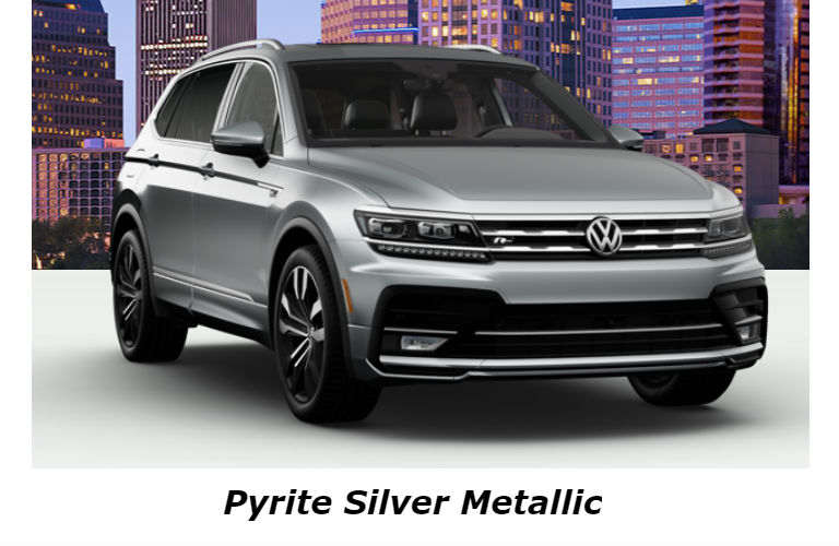 2020 Volkswagen Tiguan in Pyrite Silver Metallic