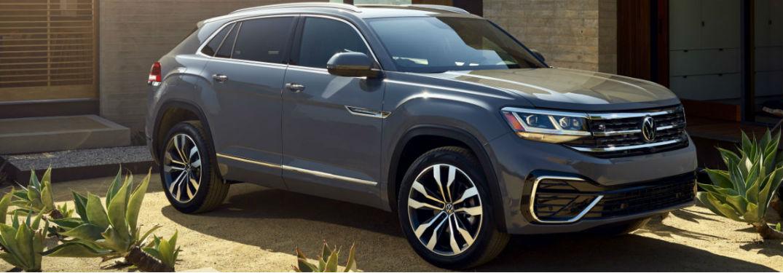 2020 Volkswagen Atlas Cross Sport parked in a driveway