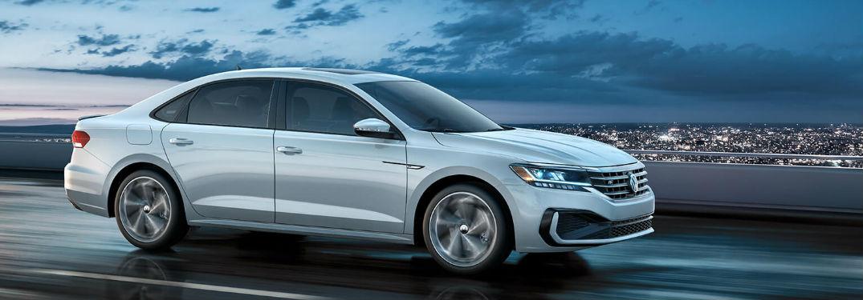 2020 Volkswagen Passat driving on a road