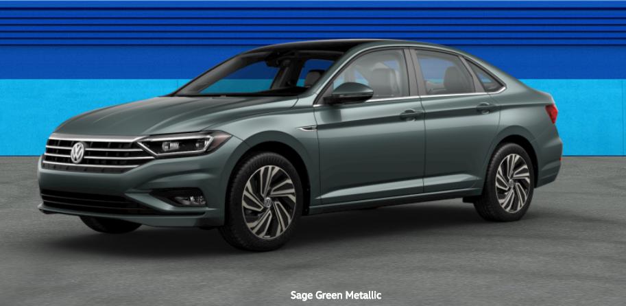 2020 Volkswagen Passat Sage Green Metallic