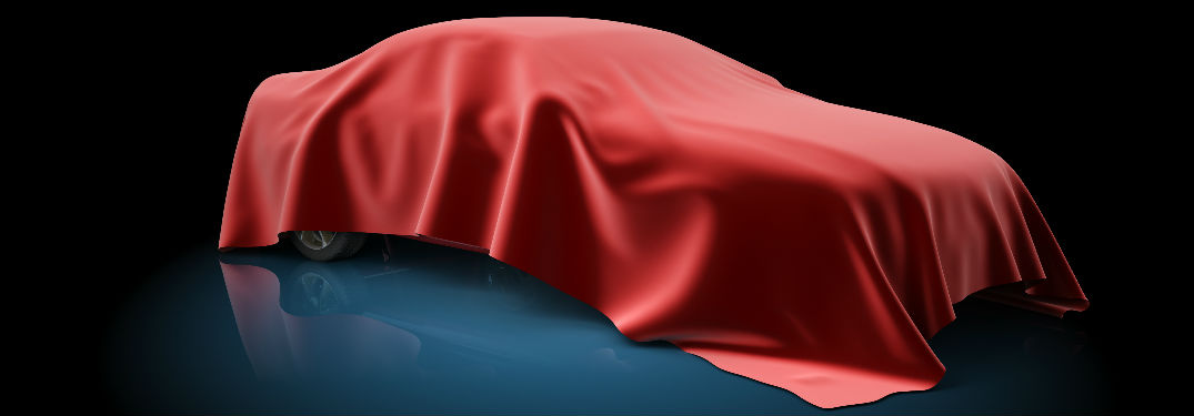 Car covered in curtain