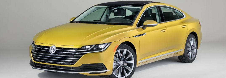2018 Volkswagen Arteon in yellow