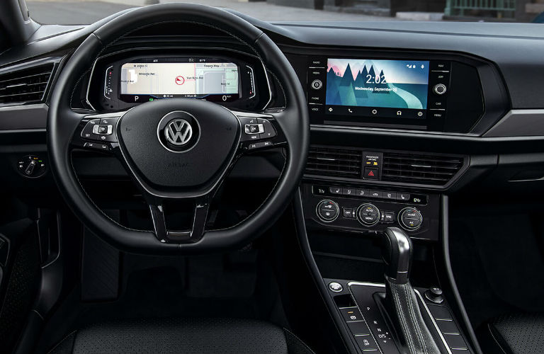 2019 Volkswagen Jetta dashboard features - Vic Bailey Volkswagen