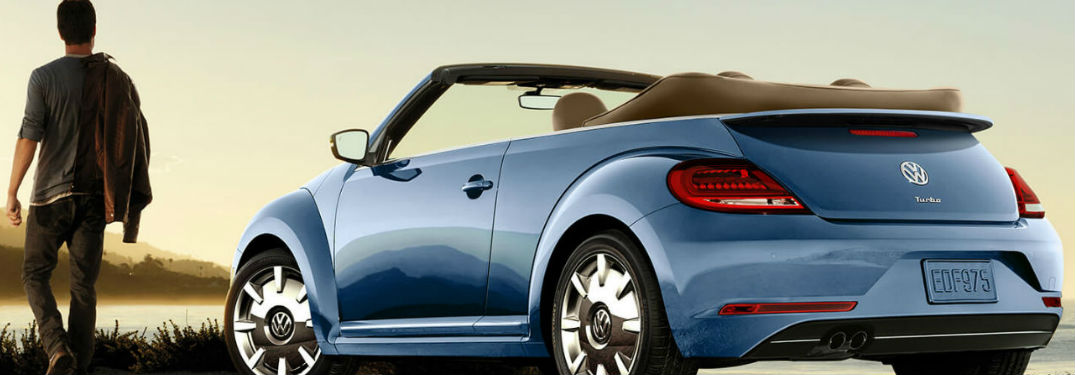 Volkswagen shows off the 2019 Volkswagen Beetle Convertible in 6 dazzling photos