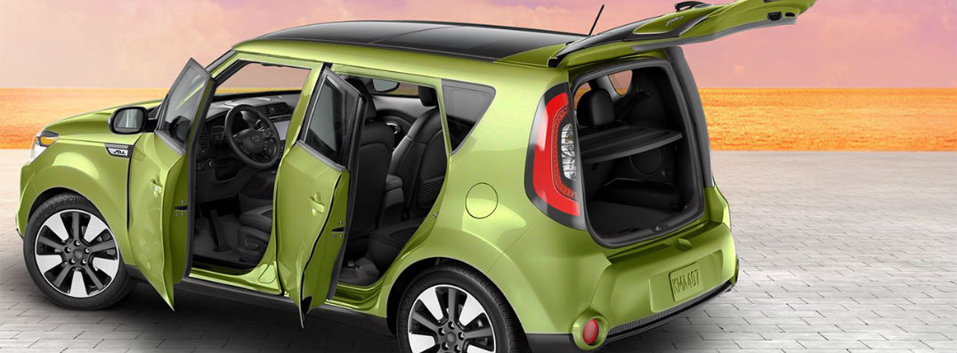 Spacious interior in the 2015 Kia Soul in Birmingham AL
