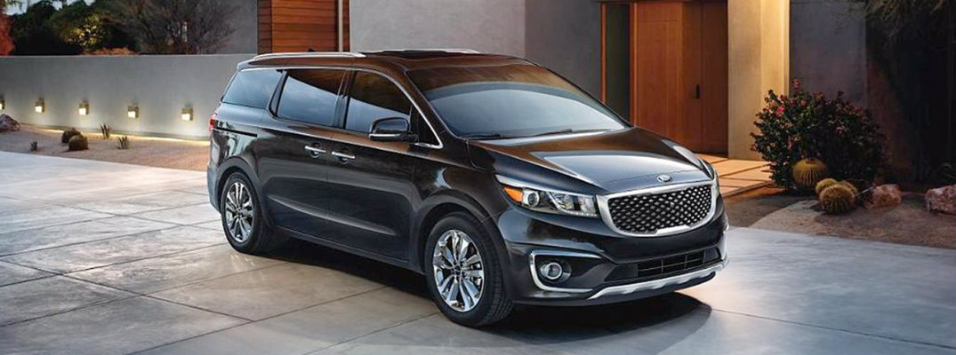 2015 Kia Sedona Interior and Safety Rating