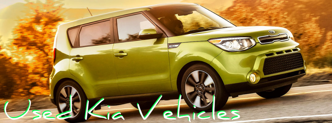 Used Kia Vehicles in Birmingham AL