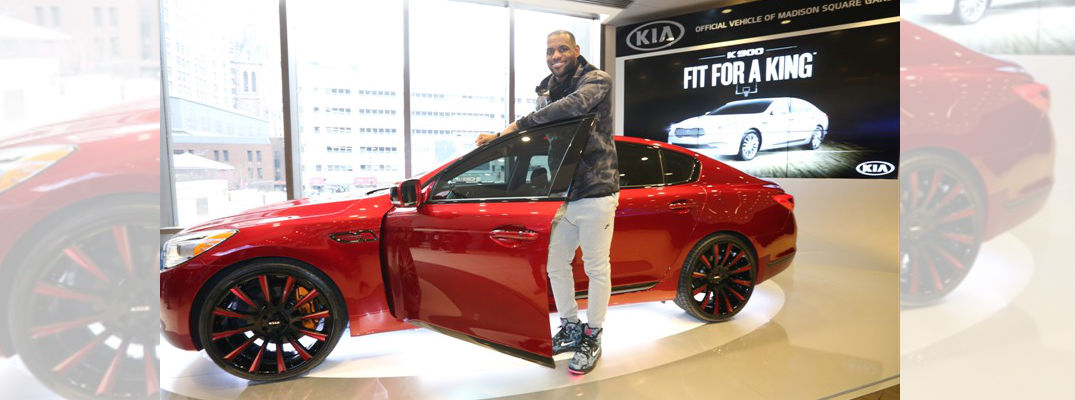 Lebron James Edition Kia K900
