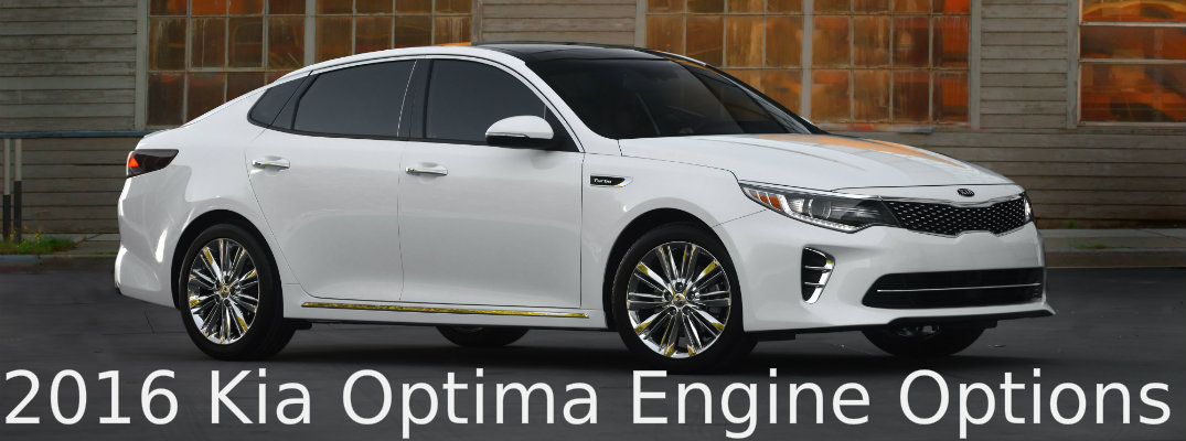 2016 Kia Optima Engine Options