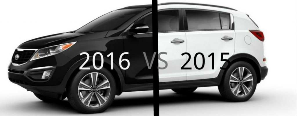 2016 kia sportage vs 2015 kia sportage. Black Bedroom Furniture Sets. Home Design Ideas