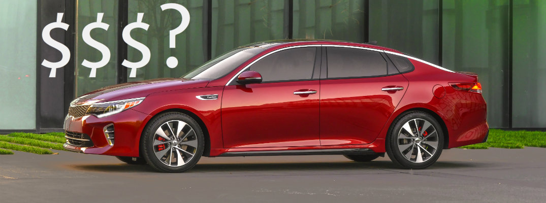 2016 Kia Optima Pricing Details
