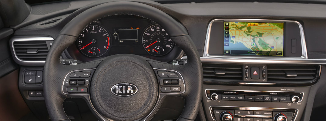 2016 Kia Optima SXL Interior
