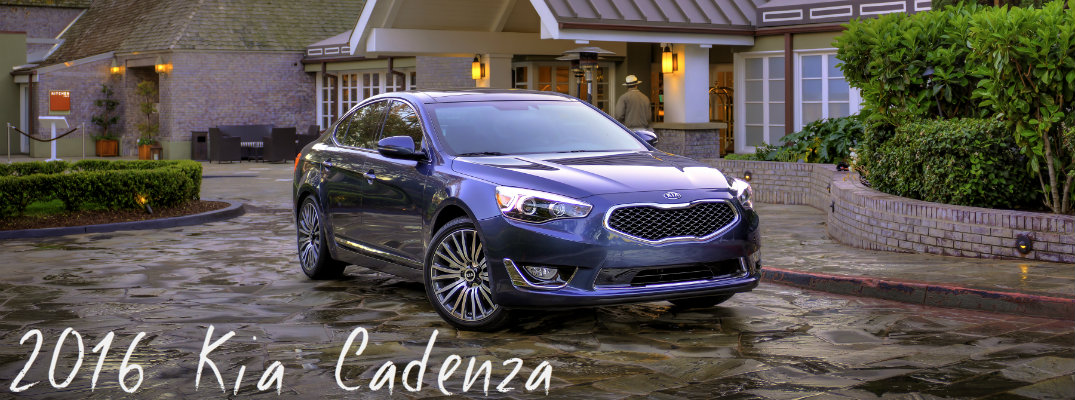 changes to the 2016 Kia Cadenza