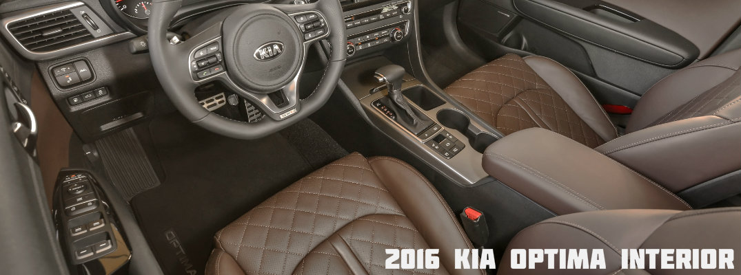 2016 Kia Optima Interior With Nappa Leather
