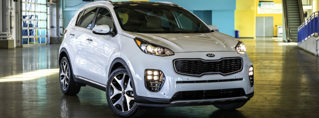 new features in the 2017 kia sportage
