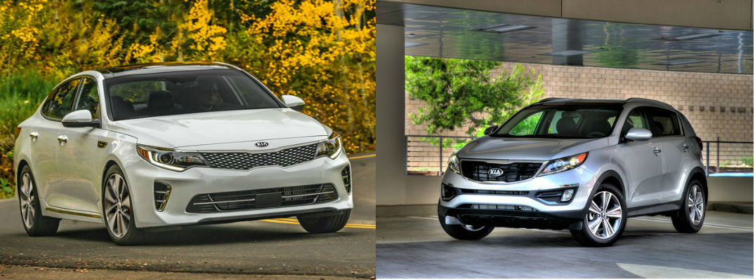 Kia earns design award for 2016 Sportage and 2016 Optima