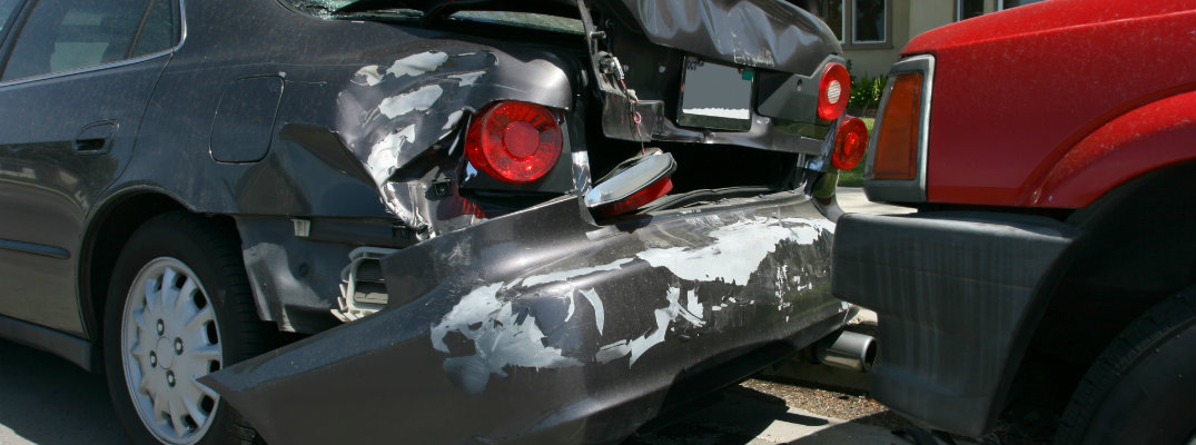 Actions when involved in an auto collision