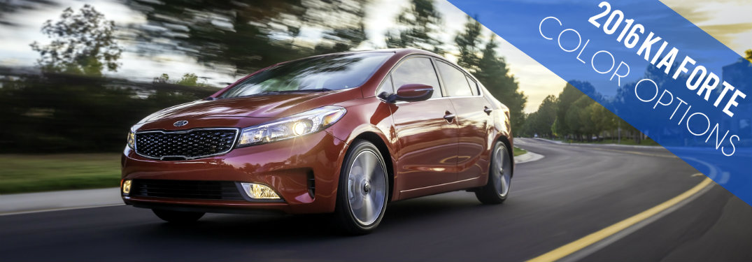 2016 Kia Forte Color Options