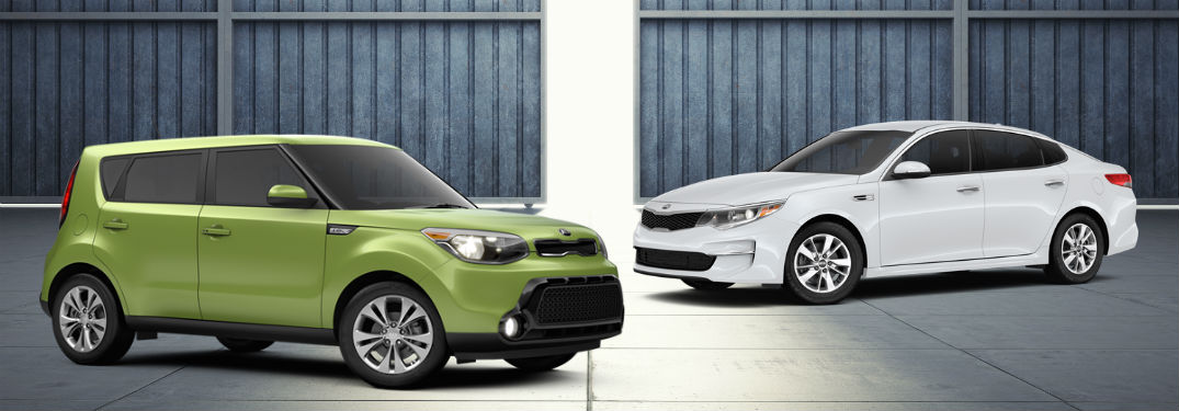 2016 kia family vehicles Serra Kia