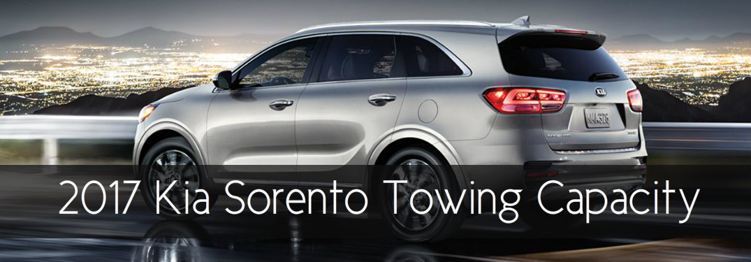 Can The Kia Sorento Tow A Camper