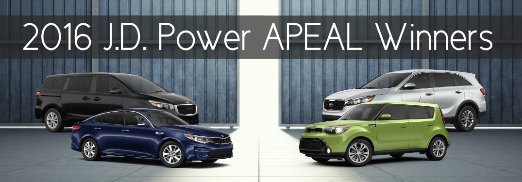 2016 JD Power APEAL results