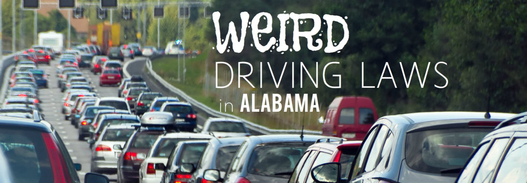weird driving laws Alabama