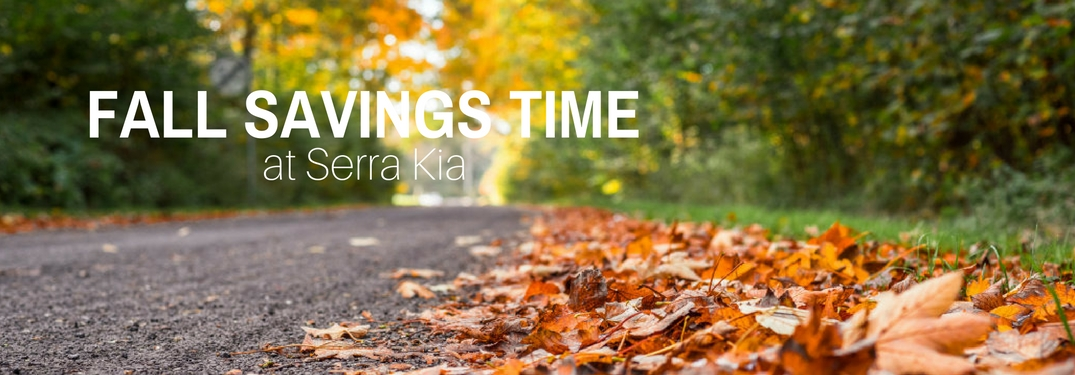 fall savings event serra kia