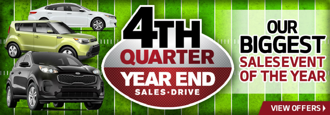 Serra Kia 4th Quarter sales event