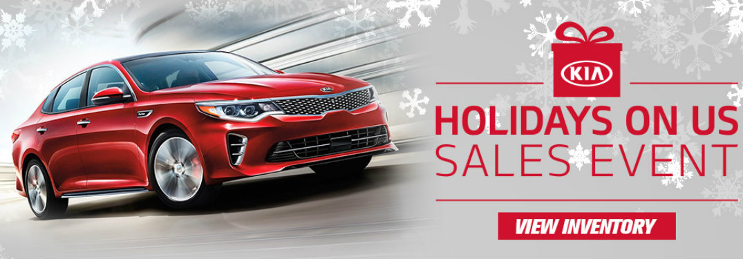serra Kia Holiday Sales event