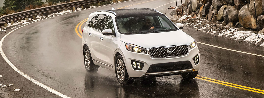 2017 Kia Sorento Safety Technology and Features