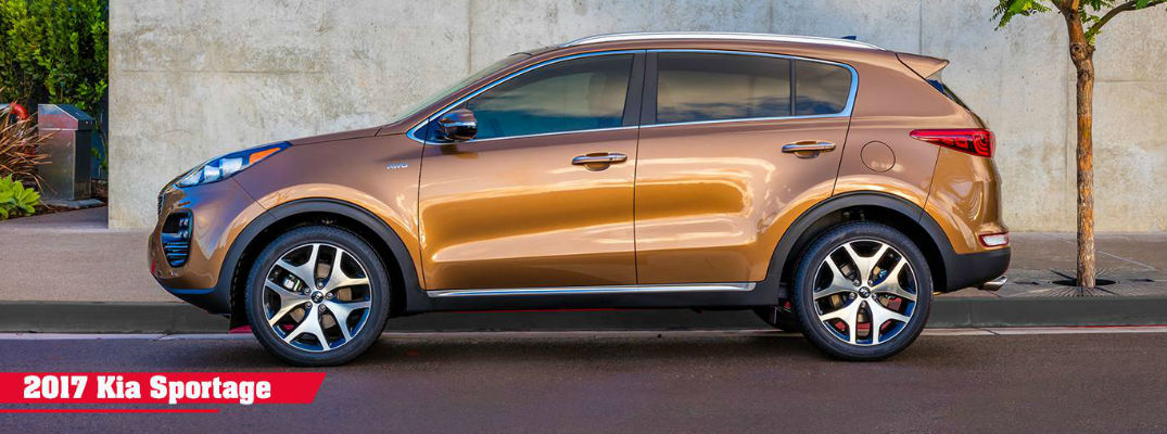 2017 Kia Sportage Seating and Cargo Capacity