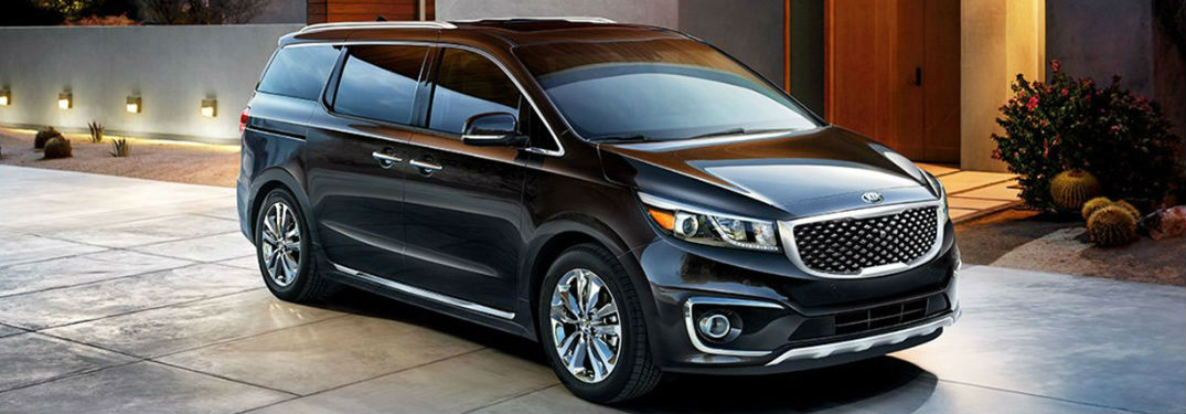 2018 Kia Sedona Exterior View in Black