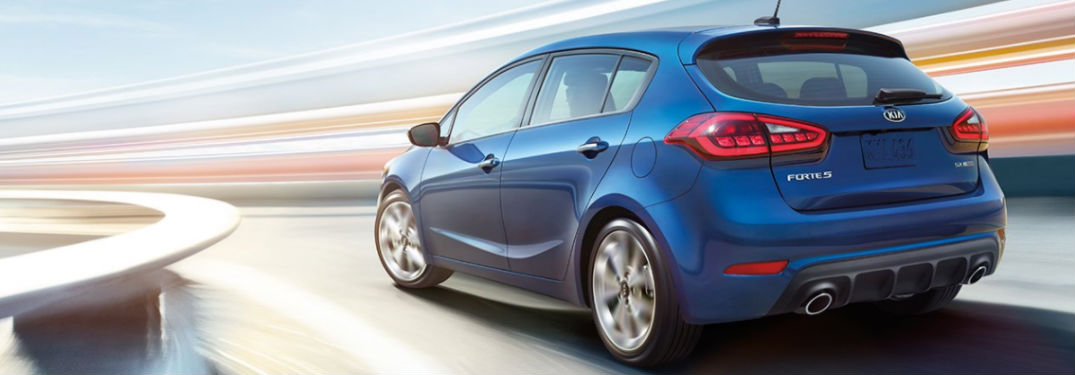 2018 Kia Forte5 Exterior View in Blue