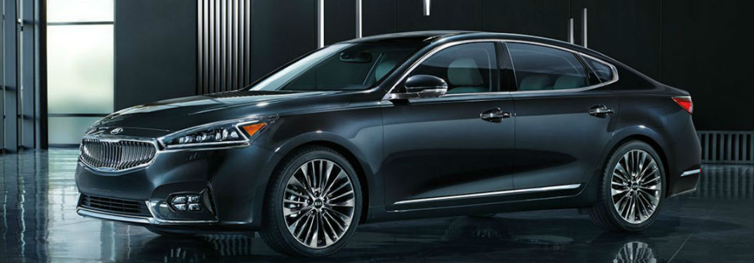2018 Kia Cadenza Exterior Side View in Black