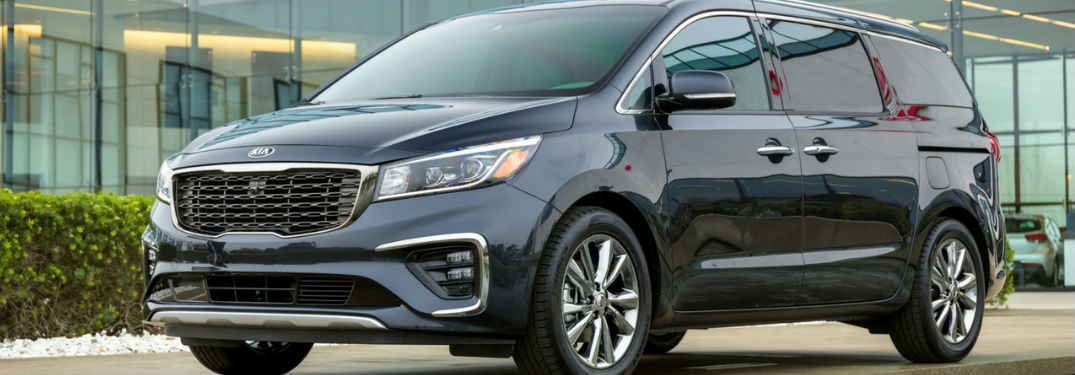2019 Kia Sedona Exterior View in Black